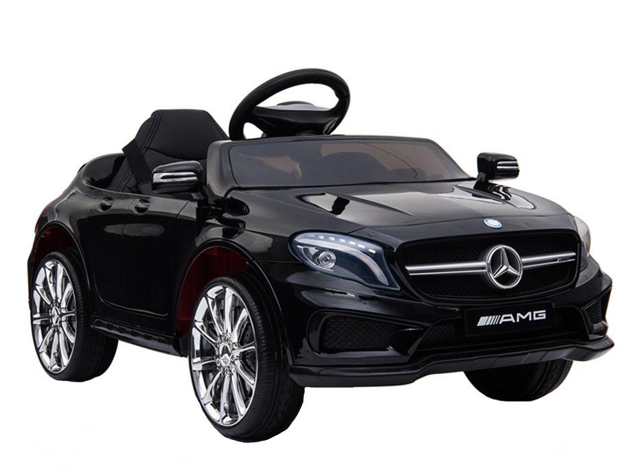 Masinuta electrica pentru copii Mercedes GLA45 AMG Black - 6