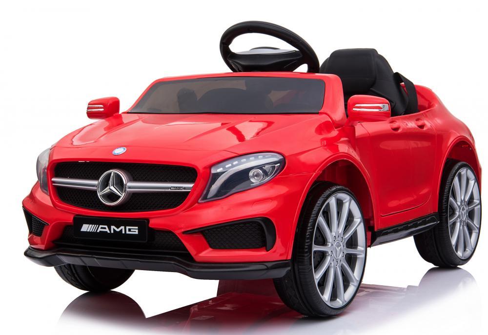 Masinuta electrica pentru copii Mercedes GLA45 AMG Red - 2