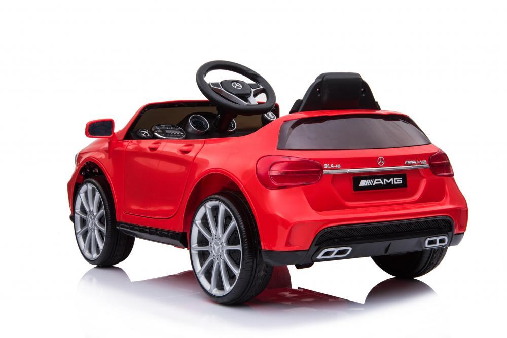 Masinuta electrica pentru copii Mercedes GLA45 AMG Red - 3