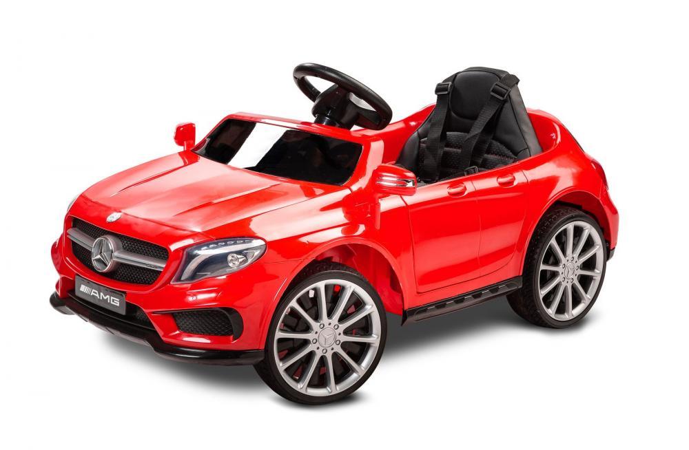 Masinuta electrica pentru copii Mercedes GLA45 AMG Red - 6