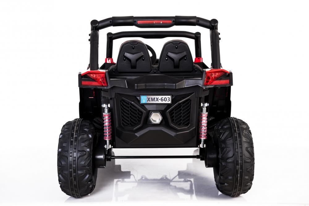 Masinuta electrica cu telecomanda Xtreme Jumper 4x4 UTV-MX Red