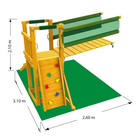 Modul pentru spatiu de joaca Bridge imagine