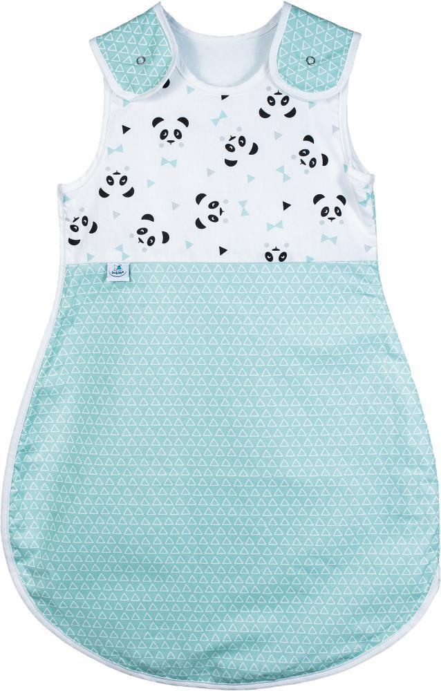 Sac de dormit bebe pentru vara 0-6 luni Green Pandas