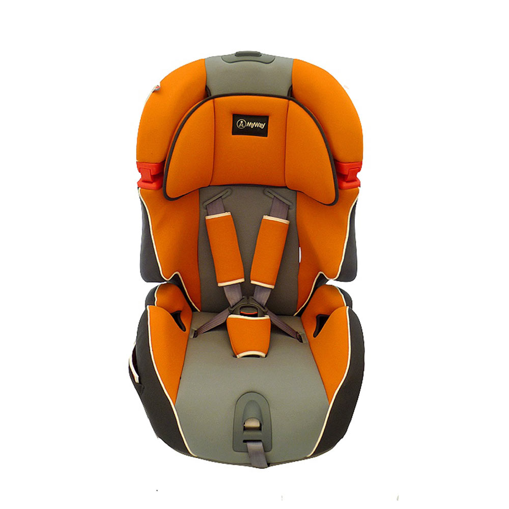 Scaun auto MyWay orange 9-36 kg imagine
