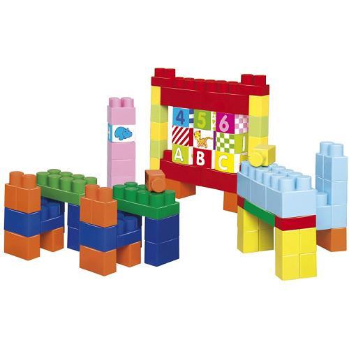 Set 100 de Cuburi pentru Construit Abrick Maxi