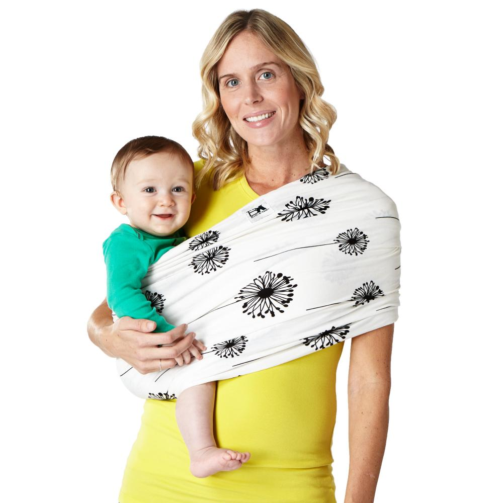 Sistem purtare Baby Ktan Baby Carrier Print Dandelion marimea XS