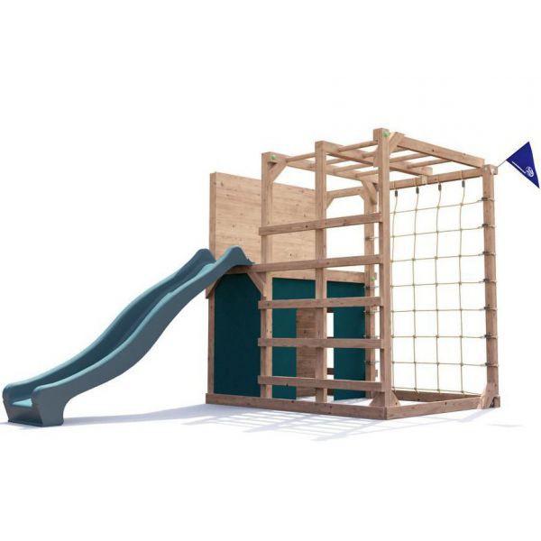 Spatiu de joaca din lemn Fort Challenge Dunster House