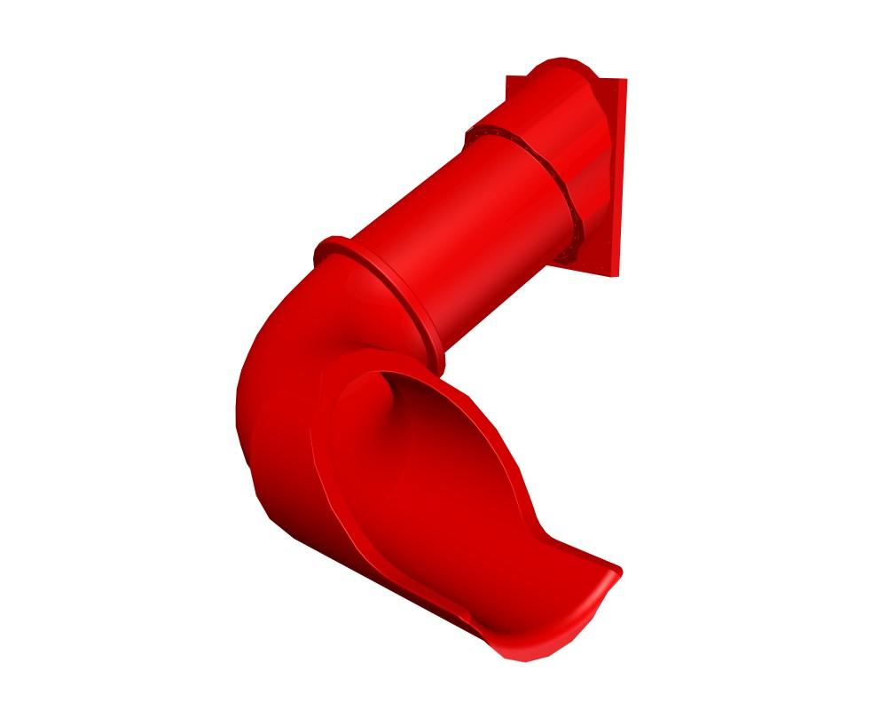 Tobogan tubular curbat 1.50 m imagine