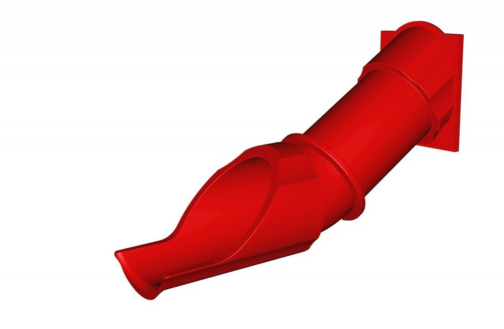 Tobogan tubular drept 1.20 m imagine