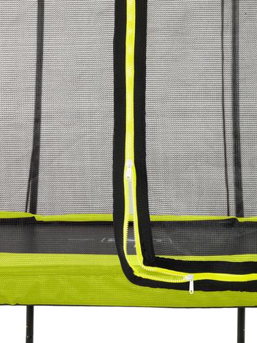 Trambulina de exterior Exit Silhouette 183 cm verde