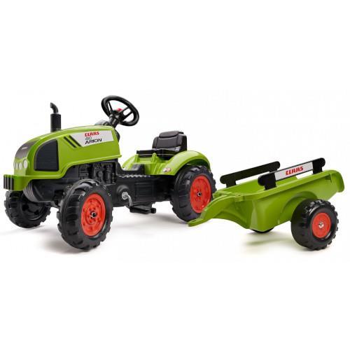 Tractor Case IH 580 Super N cu excavator si cupa imagine