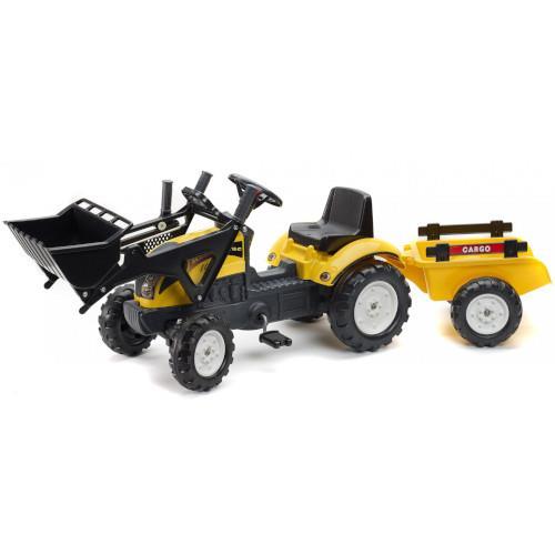 Tractoras Constructor cu Cupa si Remorca imagine