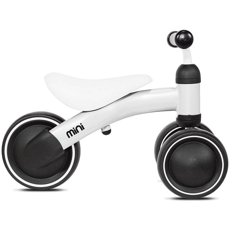 Tricicleta fara pedale Mini Kazam Alb
