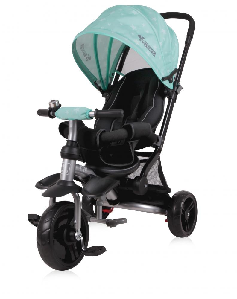 Tricicleta pentru copii Jet Green Stars imagine