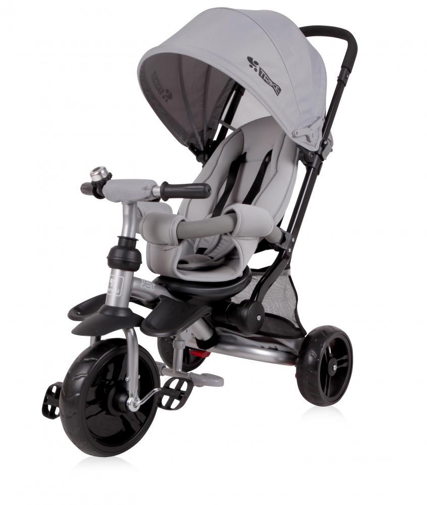 Tricicleta pentru copii Jet Light Dark Grey imagine