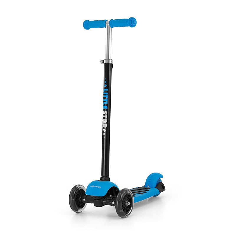 Trotineta multifunctionala 3 in 1 Little Star Blue