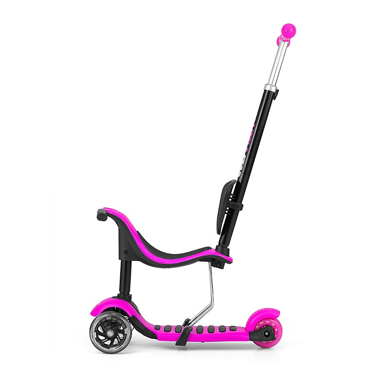 Trotineta multifunctionala 3 in 1 Little Star Pink