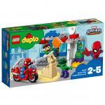 Aventurile lui Spider-Man si Hulk Lego Duplo