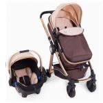 Carucior transformabil 3 in 1 Allure Beige