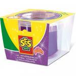 Conserva pasta de modelat 90 gr. Mov cu sclipici