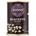 Fasole alba blackeye bio 400g Biona