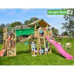 Complex de joaca Jungle Gym Chalet-Bridge Modul