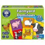 Joc educativ domino La Ferma Farmyard Dominoes