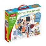 Joc educativ Puzzle magnetic Montessori