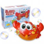 Jucarie de baie aparat de facut baloane Crabul Vesel