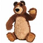 Jucarie de plus Simba Masha and the Bear Bean Bag Bear 43 cm