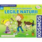 Primul set de experimente legile naturii
