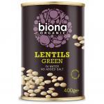 Linte verde bio 400g Biona