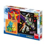 Puzzle 3 in 1 Toy Story 4- 55 piese