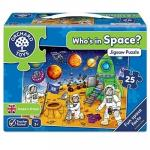 Puzzle Spatiul cosmic (25 piese) WHOS IN SPACE