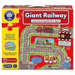 Puzzle gigant de podea Cale ferata (26 piese)