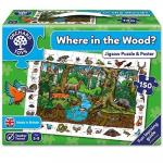 Puzzle in limba engleza In padure (150 piese)