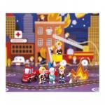Set figurine mini story povesti cu pompieri
