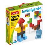Set constructie copii Smart Bloc Quercetti piese multicolore