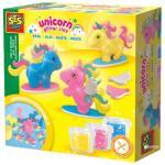 Set cu pasta de modelat Unicorni