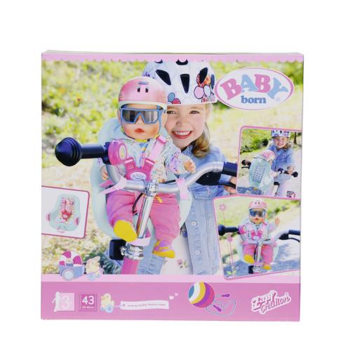 Scaunel bicicleta pentru papusi 43 cm BABY born