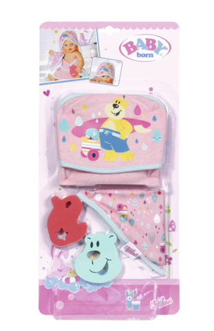 Set prosopele baie pentru papusi BABY born