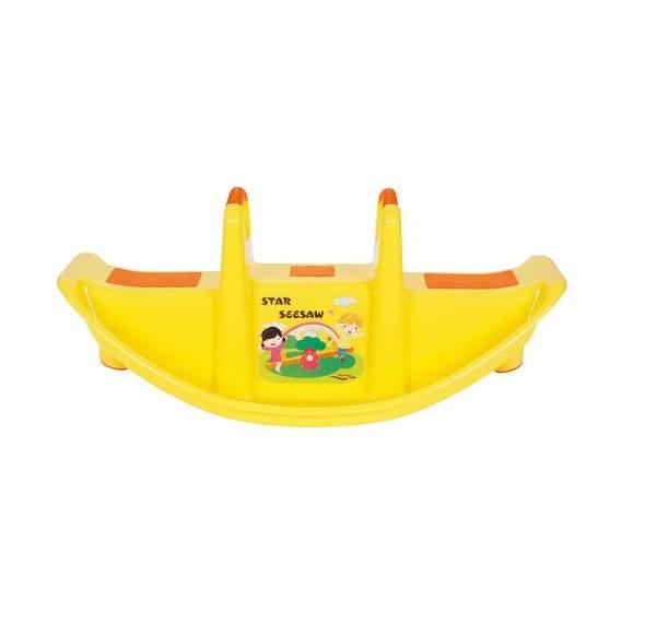 Balansoar pentru copii Star Seesaw Yellow imagine