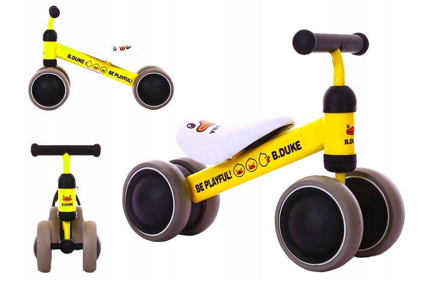 Bicicleta copii Ride On Yellow