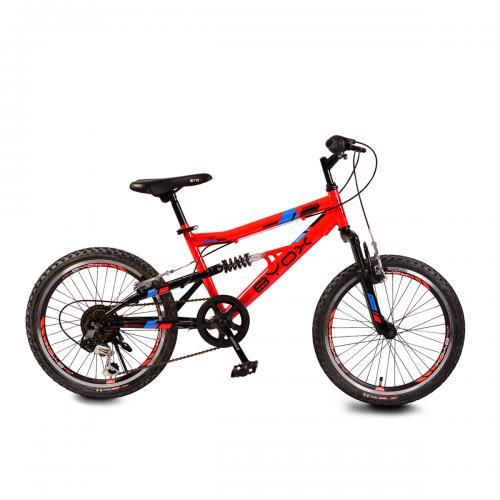 Bicicleta pentru copii Byox Versus Red 6 viteze 20 inch