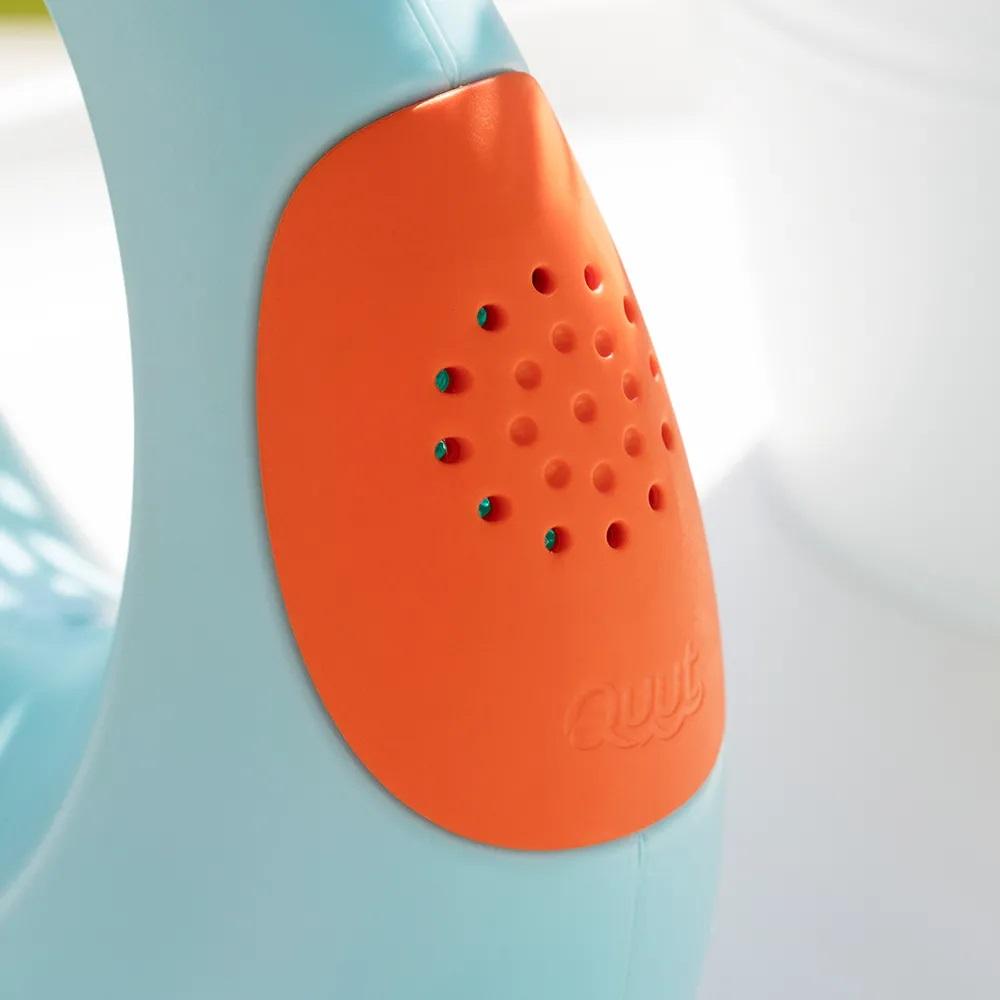 Cana stropitoarea reinventata mica albastru portocaliu