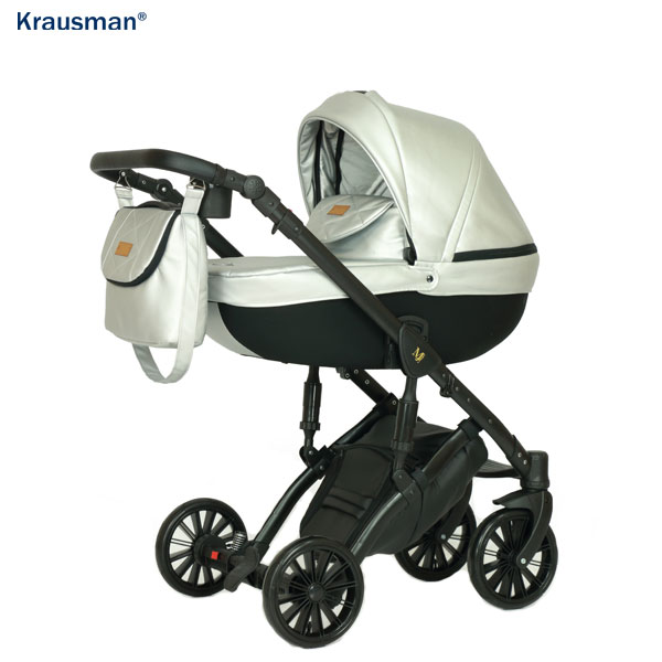 KRAUSMAN Carucior 3 in 1 Mirage Swift Silver Limited Edition