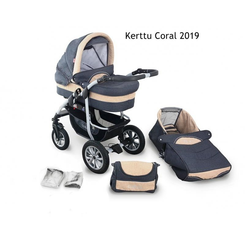 Kerttu Carucior Kerttu Coral 2019 2 in 1