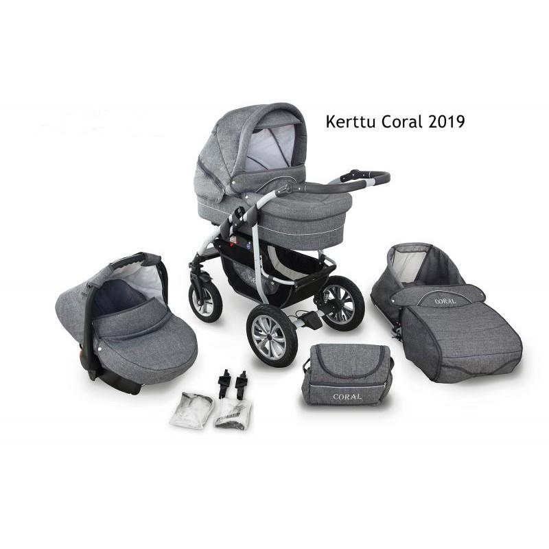 Carucior Kerttu Coral 2019 3 in 1 - 3