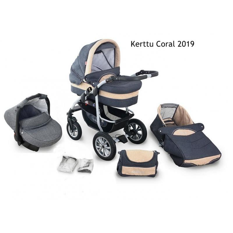 Carucior Kerttu Coral 2019 3 in 1