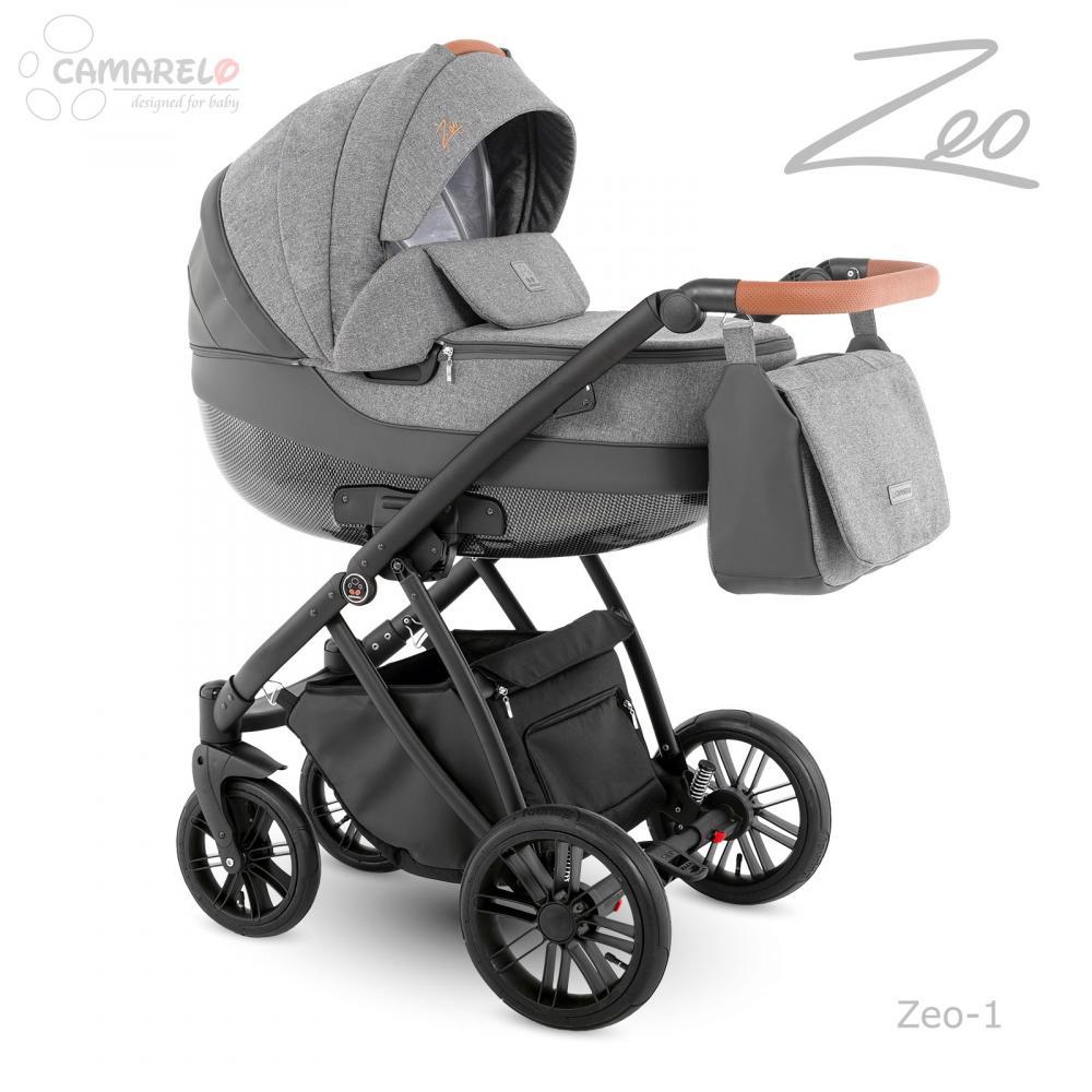 Carucior copii 2 in 1 Zeo Camarelo color 1